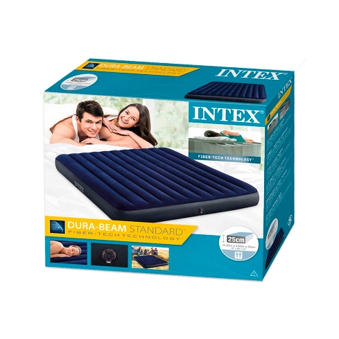 COLCHÓN INTEX INFLABLE KING CLASSIC