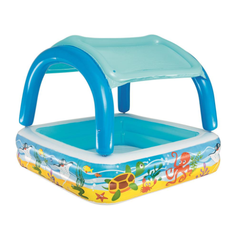 PISCINA CANOPY PLAY POOL 1.47 x 1.47 x 1.22 mts.
