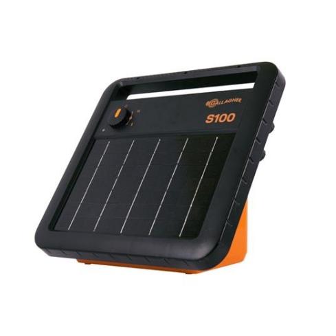 ENERGIZADOR SOLAR S100 4Ha 30Km