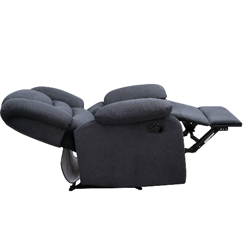 BERGERE RECLINABLE MANCHESTER TELA GRIS 1 CPO