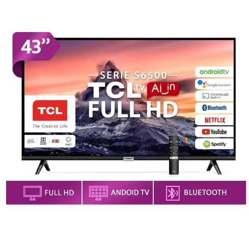 LED TCL 43 43S6500 FHD SMART ANDROID TV