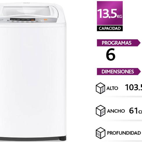 LAVADORA MADEMSA EFFICACE 13,5KL BZG