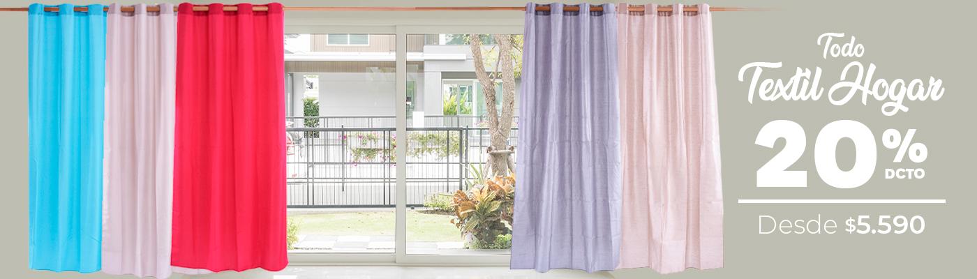 Oferta textil hogar